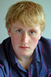 Portrait of teenage boy Stock Images