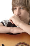 Portrait of Teenage Boy Royalty Free Stock Photos