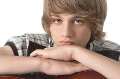 Portrait of Teenage Boy Stock Photography