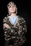 Portrait of a teenage boy Royalty Free Stock Photo
