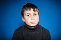Portrait of a teenage boy Royalty Free Stock Photos