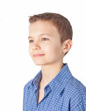Portrait of a teenage boy Stock Photos
