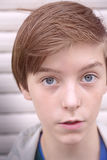 Portrait of a teenage boy Stock Photo