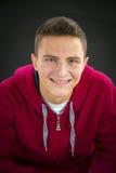 Portrait of teenage boy Stock Photo