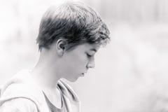 Portrait of a teenage boy Stock Photography