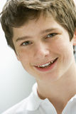 Portrait Of Teenage Boy Smiling Stock Photography