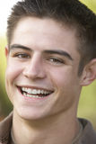 Portrait Of Teenage Boy Smiling Royalty Free Stock Photos