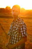 Portrait of Teenage Boy Royalty Free Stock Images