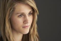 Portrait Of Teenage Girl stock images