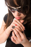 Portrait of a teenage girl Royalty Free Stock Photography