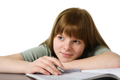 Portrait of teenage girl Stock Photography