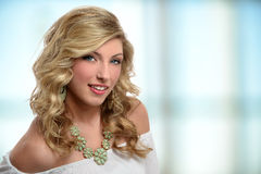 Portrait of Teenage Girl Stock Image