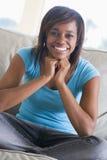Portrait Of Teenage Girl Stock Photo