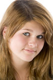 Portrait Of Teenage Girl Royalty Free Stock Images