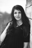 Portrait of teenage girl Royalty Free Stock Photography