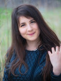 Portrait of teenage girl Royalty Free Stock Photos