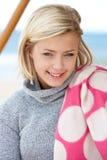 Portrait teenage girl outdoors Royalty Free Stock Photo