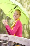 Portrait Of Teenage Girl Outdoors Royalty Free Stock Photo