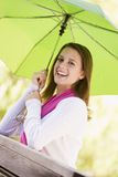 Portrait Of Teenage Girl Outdoors Royalty Free Stock Photos