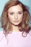 Portrait of a teenage girl Stock Photos