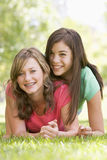 Portrait Of Teenage Girls Stock Photo
