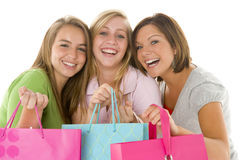 Portrait Of Teenage Girls Royalty Free Stock Image