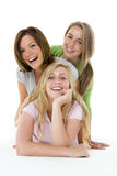 Portrait Of Teenage Girls Stock Photos