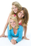 Portrait Of Teenage Girls Royalty Free Stock Photos