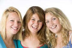 Portrait Of Teenage Girls Stock Image