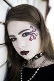 Portrait Of Teenage Goth Stock Image