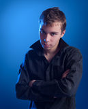 Portrait of the teenager Royalty Free Stock Images