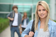 Portrait of a teenager royalty free stock images