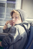 Portrait of a teenager boy Stock Photography