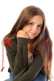 Portrait of teenager girl Royalty Free Stock Images
