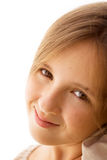 Portrait of teenager girl Stock Images