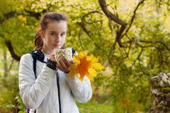Portrait of teenager girl Royalty Free Stock Photo