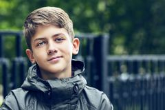 Portrait of a teenager Royalty Free Stock Photo