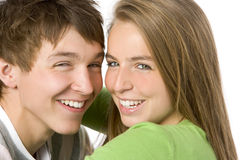 Portrait of Teenagers Stock Photo