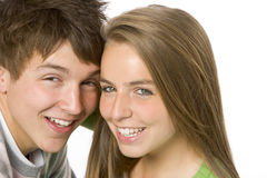 Portrait of Teenagers Royalty Free Stock Photos