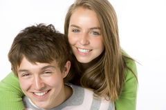 Portrait of Teenagers Stock Photo