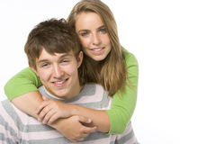 Portrait of Teenagers Stock Image