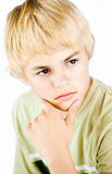 Portrait of ten year old boy Royalty Free Stock Photos