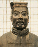 A Portrait of a Terracotta Army Soldier Stock Photos