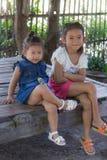 Portrait thaïlandais de filles Photo stock