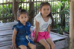 Portrait thaïlandais de filles Image libre de droits