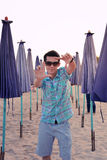 Portrait Thai boy Stock Image