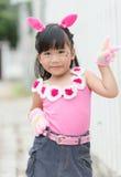 Portrait of Thai cute girl Stock Photo