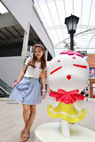 Portrait Thai girl Royalty Free Stock Image