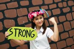 Portrait Thai Girl Royalty Free Stock Photo