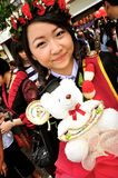Portrait Thai Girl. In commencement day,  Thailand Stock Photography